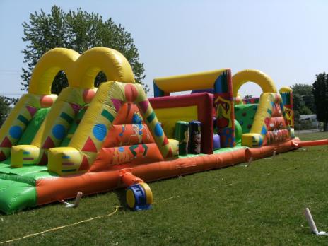 Le festival du jeu gonflable!