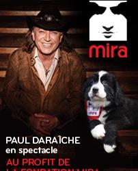 Spectacle country bénéfice avec Paul Daraîche au profit de la Fondation MIRA