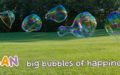 "Animation jeu de Mölkky et bulles géantes ""Tuban"""